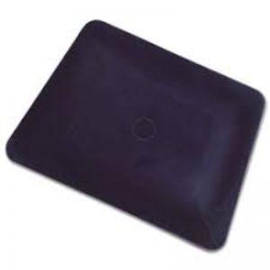 tarjeta de teflón negra
